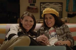 """Abbi and Leslie from """"Broad City"""""""