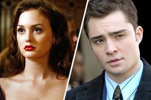Blair and Chuck in Gossip Girl
