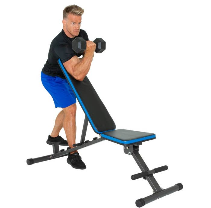The 12 position weight bench