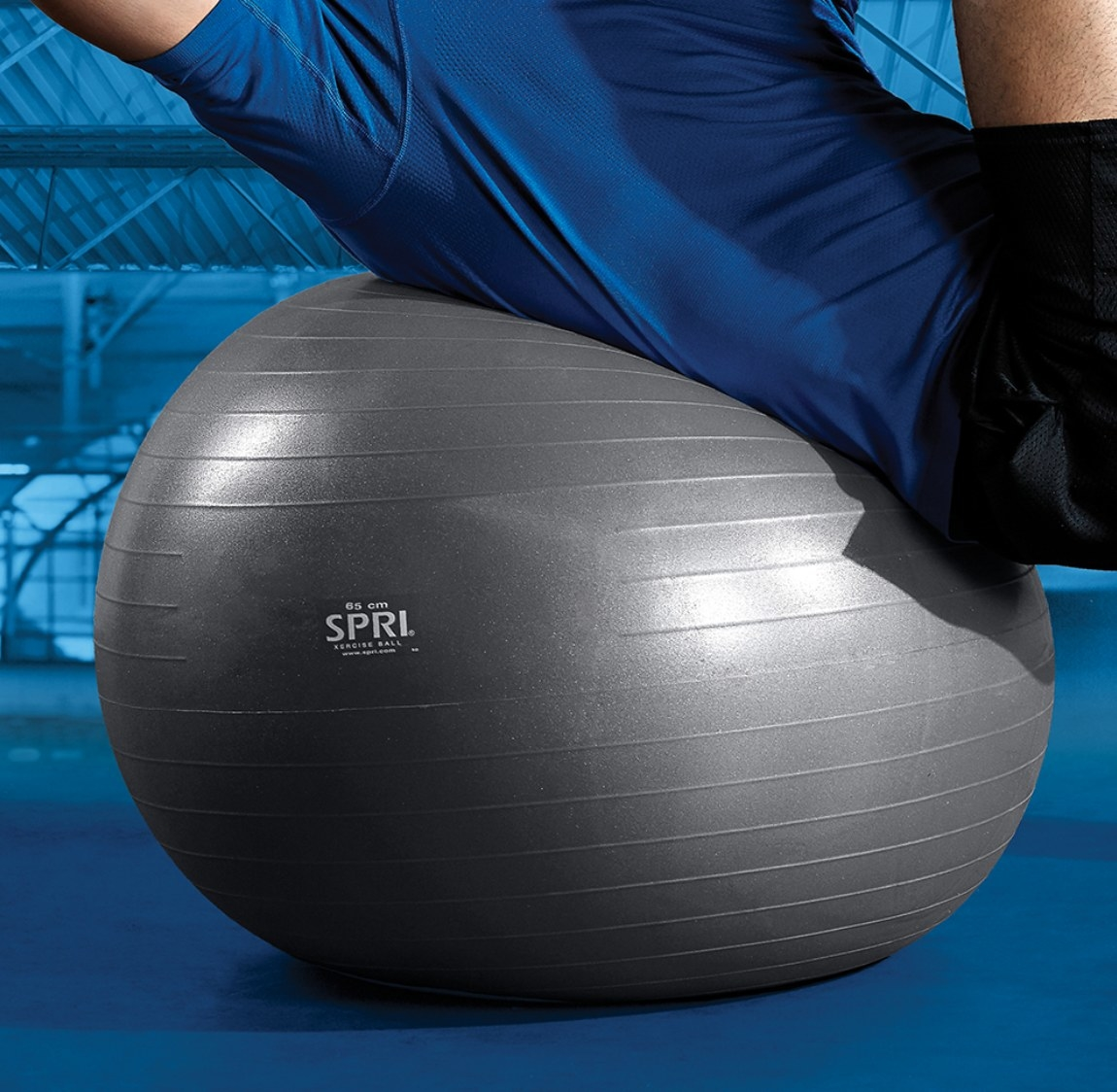 The stability ball in 65 cm