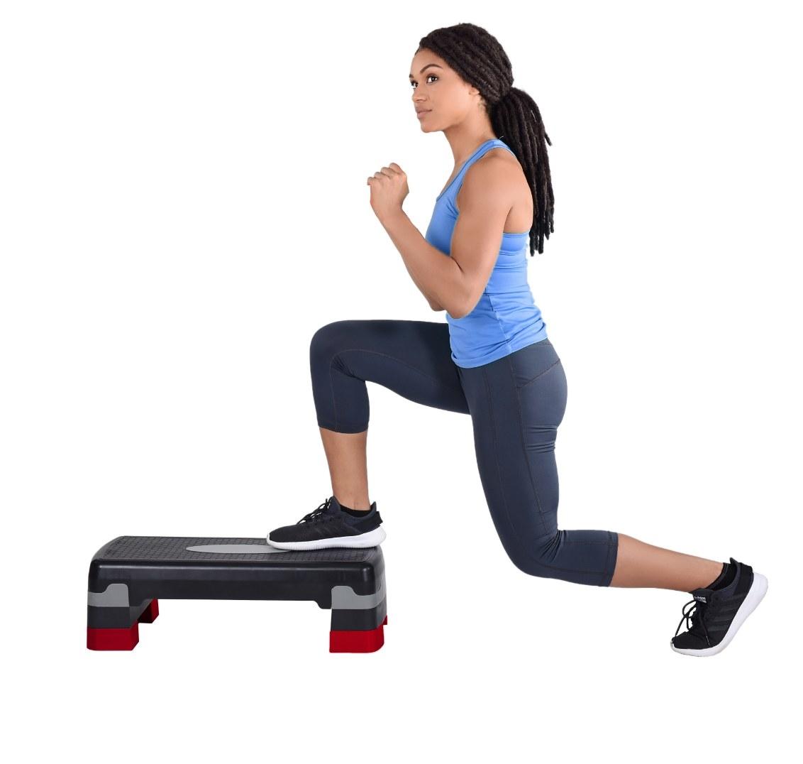 The three-level aerobic stepdeck
