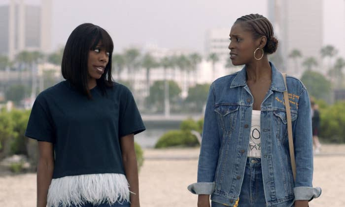 Yvonne Orji as Molly Carter and Issa in Insecure