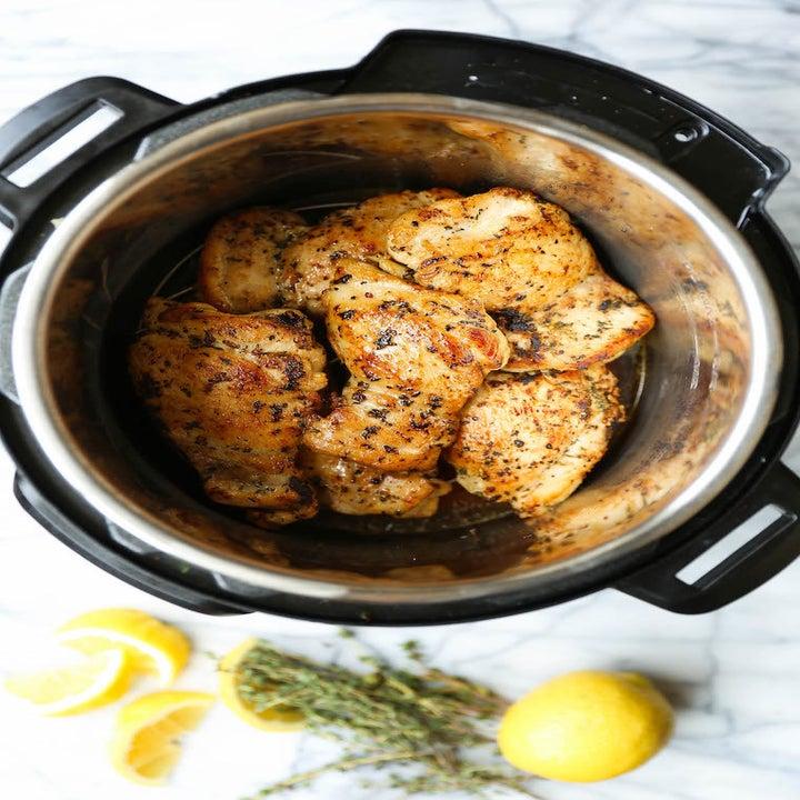 Lemon chicken thighs