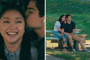 "Peter and Lara Jean from ""To All the Boys"""