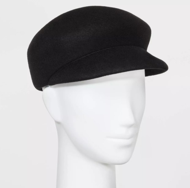 A mannequin wearing the hat