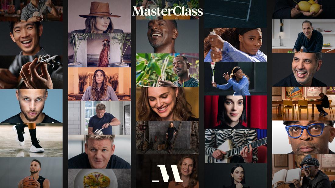 MasterClass promotional photo