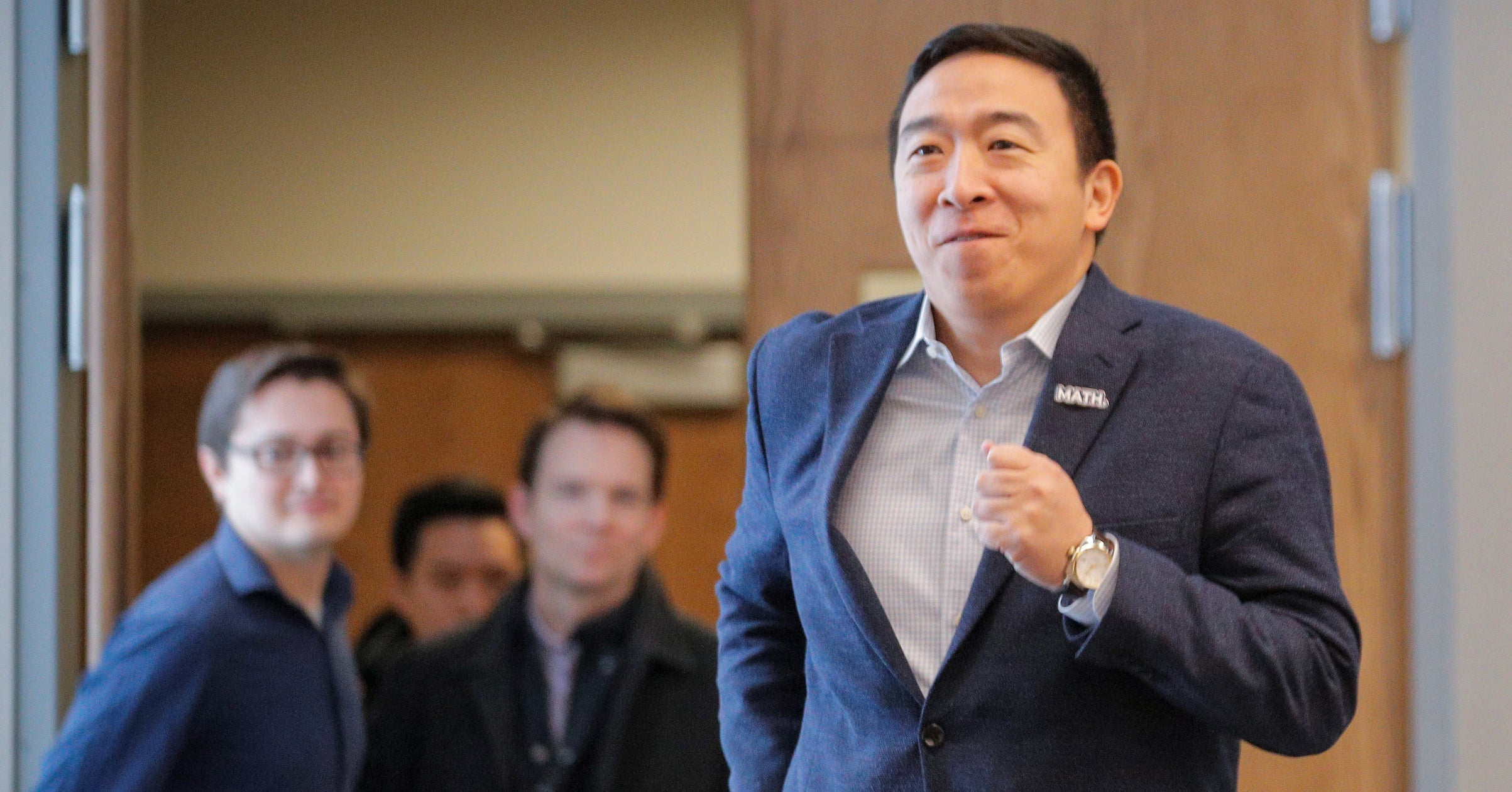 Andrew Yang Is Running For Mayor Of New York City