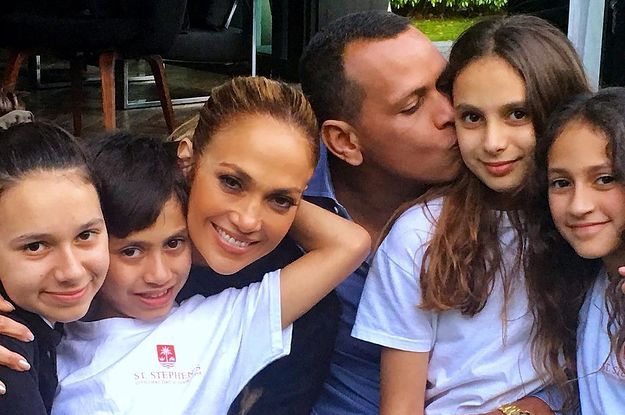 "Alex Rodriguez Said Navigating His Blended Family With Jennifer Lopez Has Been A ""Really Nice Experience"""