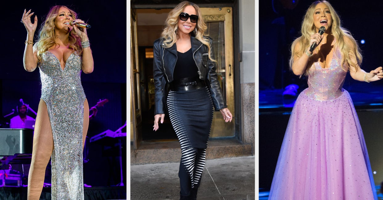 Each Of These Mariah Carey Dresses You Judge Will Determine Your Clothing Aesthetic