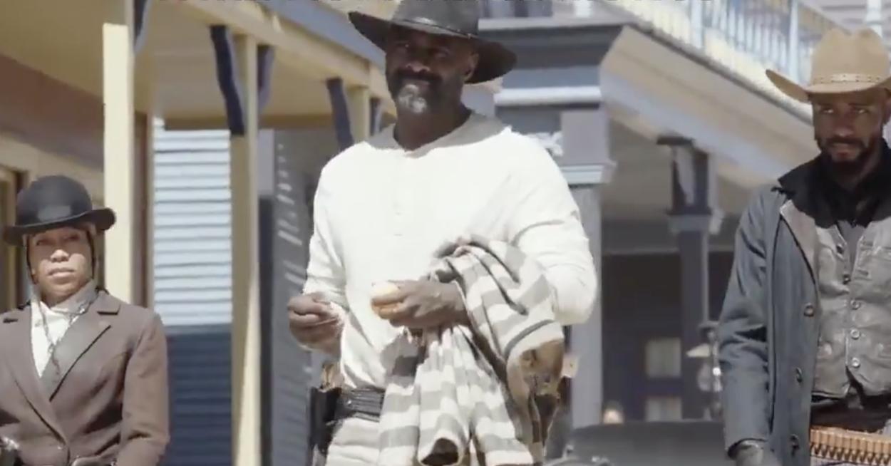 Netflix Dropped A First Look At Idris Elba And Regina King's