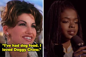"""Cristal from """"Showgirls"""" and Rita from """"Sister Act 2: Back in the Habit"""""""