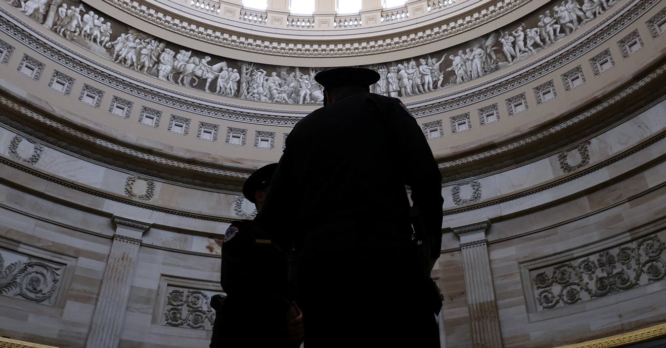 Capitol Police Officers Finally Received A Proper Briefing Today About The Threats They Face