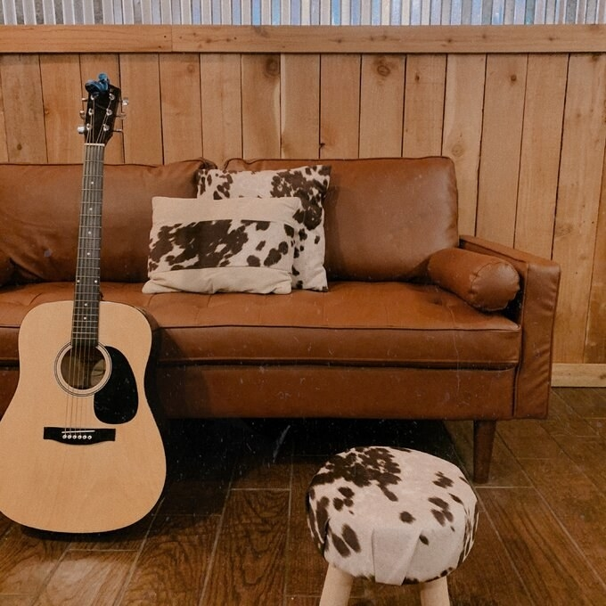 Review photo of the brown sofa