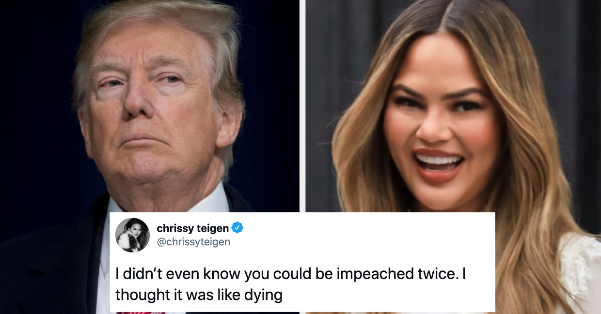 14 Celeb Reactions To Trump Getting Impeached Again