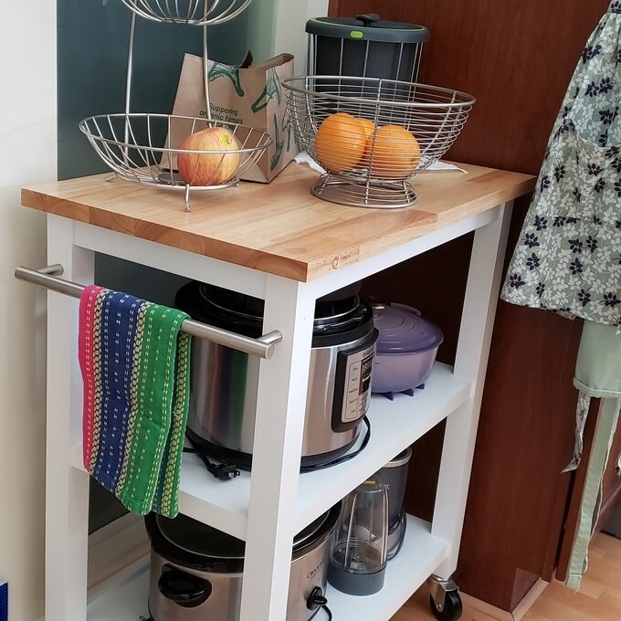 Review photo of the kitchen cart