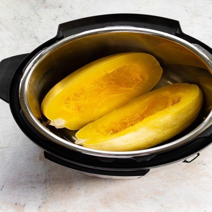 Spaghetti squash in an Instant Pot