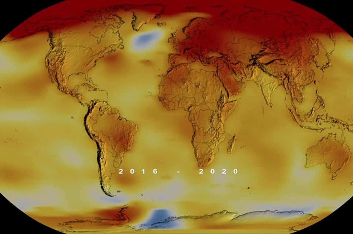 2020 Was One Of The Hottest Years On Record. Global Warming Is To Blame.