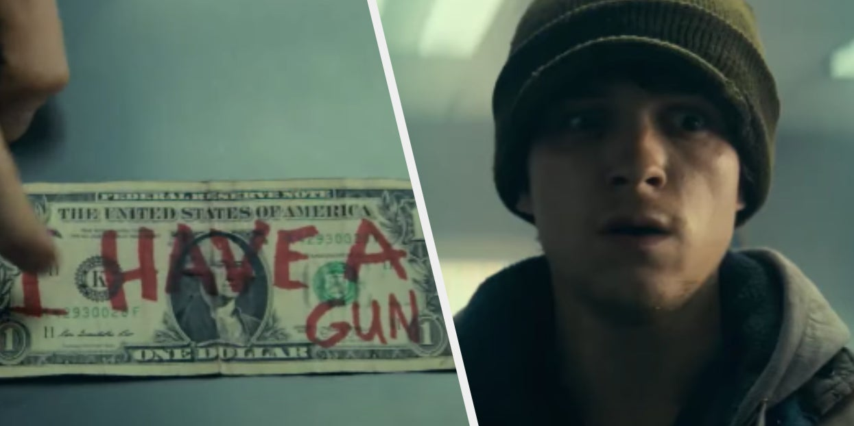 """Image of article 'Tom Holland Is Robbing Banks And Stealing Hearts In The First Trailer For """"Cherry'"""