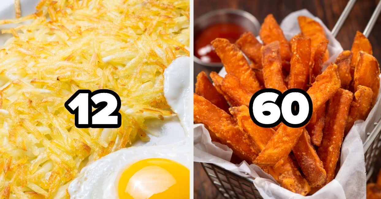 Eat A Bunch Of Potato Dishes And We'll Guess Your Age With 82% Accuracy