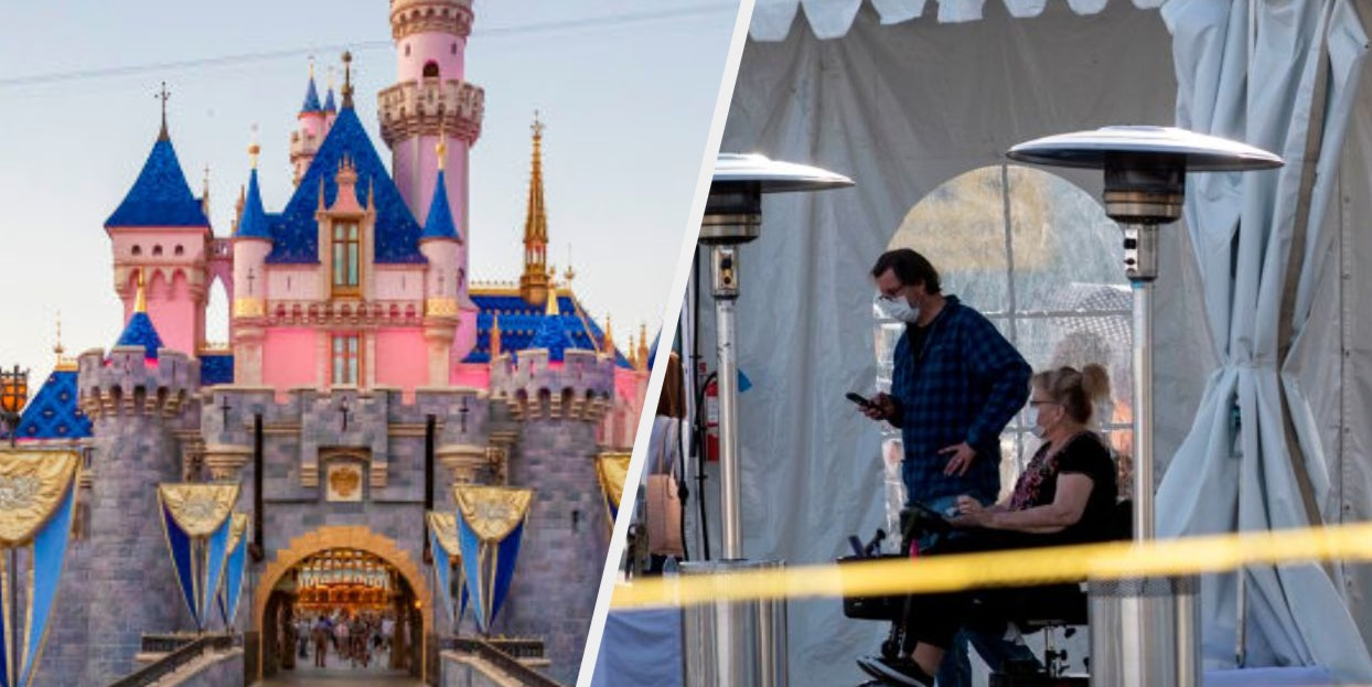 Image of article 'Here's What The Disneyland Vaccination Site Actually Looks Like'