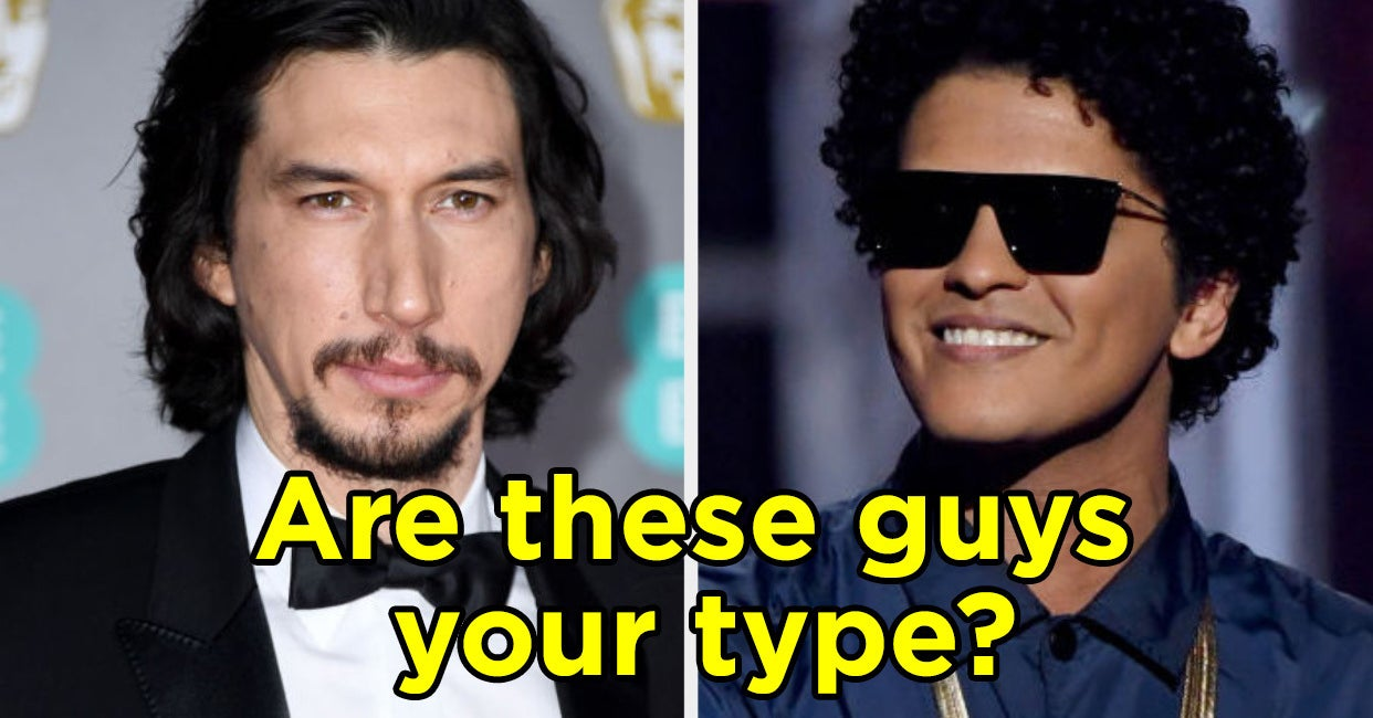The Famous Guys You Find Attractive And Unattractive Will Determine Your Age