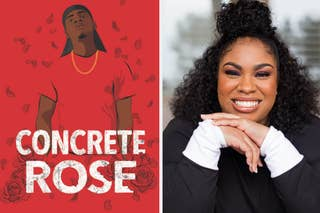 Concrete Rose book cover / Angie Thomas