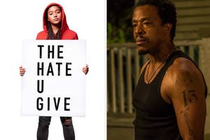 The Hate U Give movie poster / Maverick actor