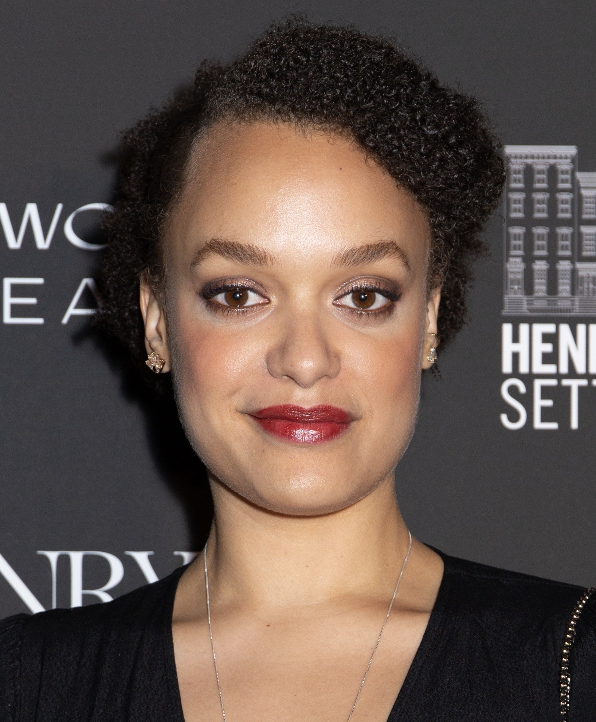 Britne Oldford posing on the red carpet