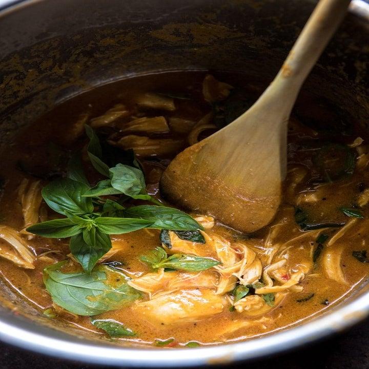 Thai lemongrass chicken in Instant Pot
