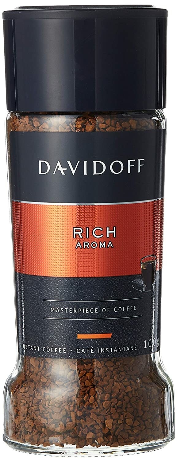 Packaging of the Davidoff instant coffee