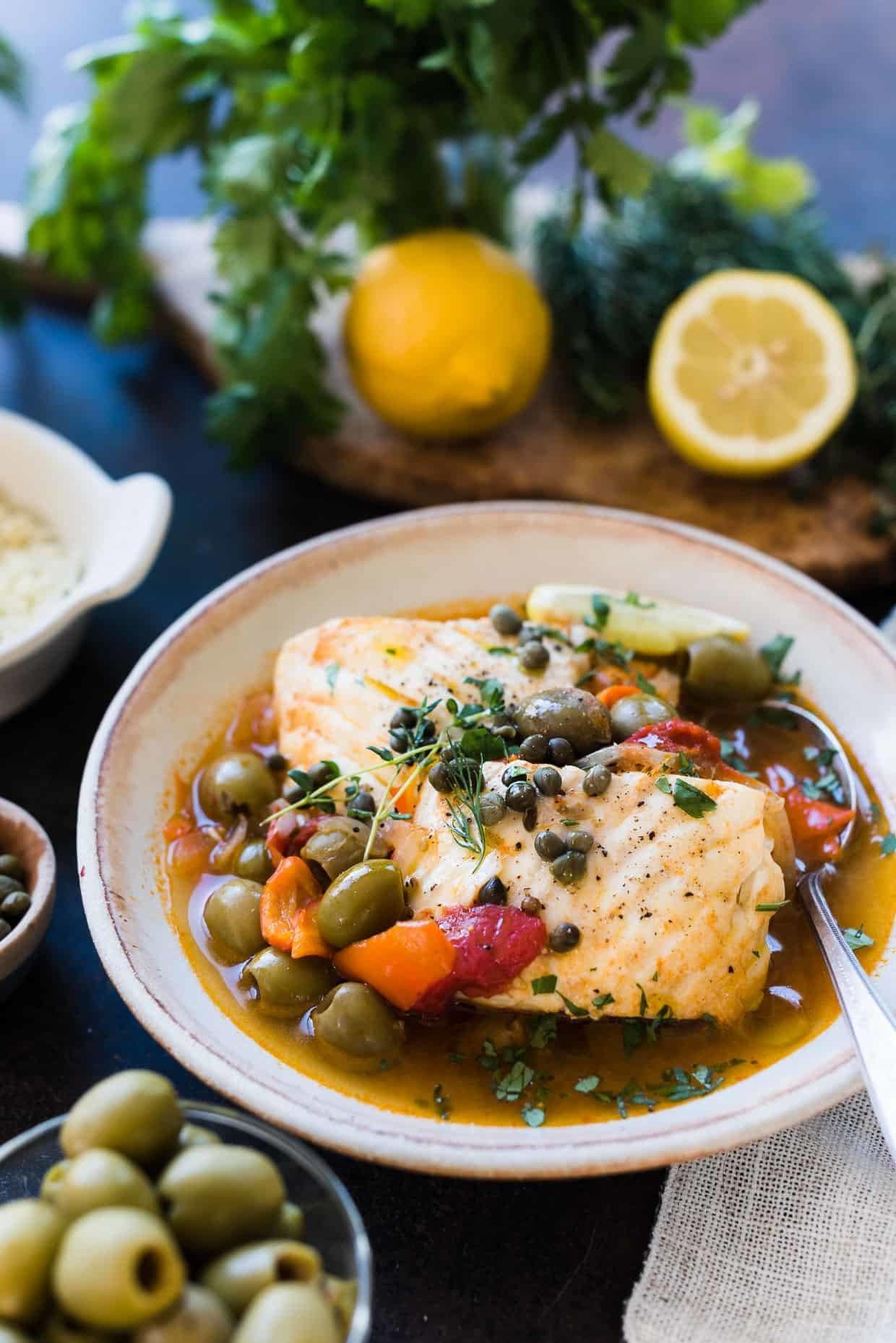 Instant Pot fish stew