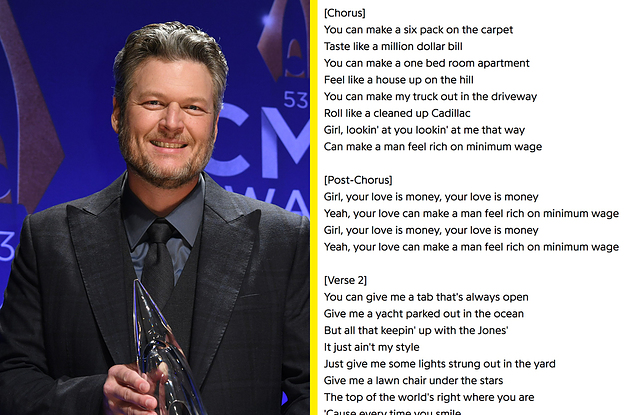 """Blake Shelton Responded To Backlash Over His Song """"Minimum Wage"""" After People Called It """"Tone Deaf"""""""