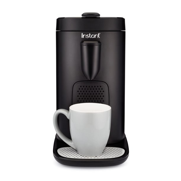 black coffee pod maker from Instant brand