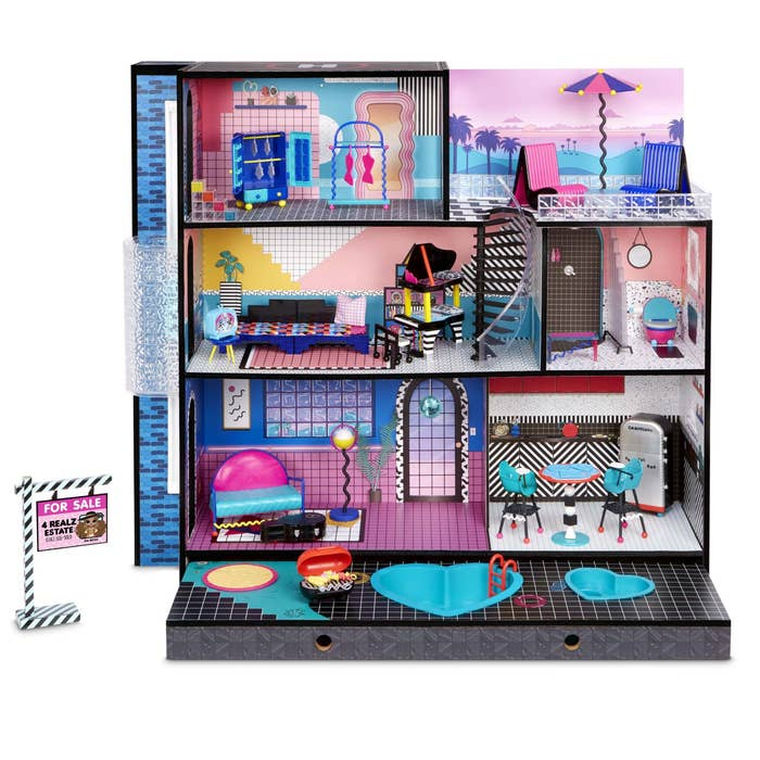 three story LOL surprise doll house