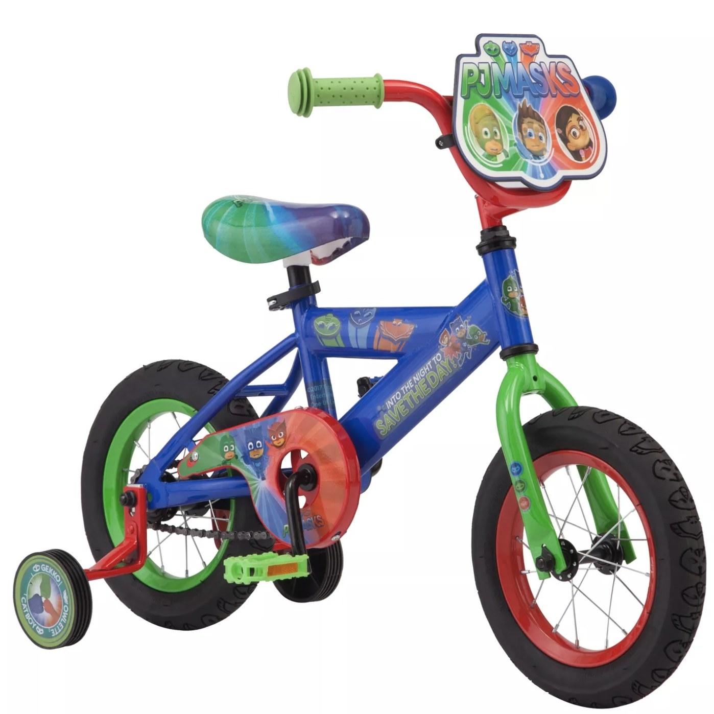 The kid's bike