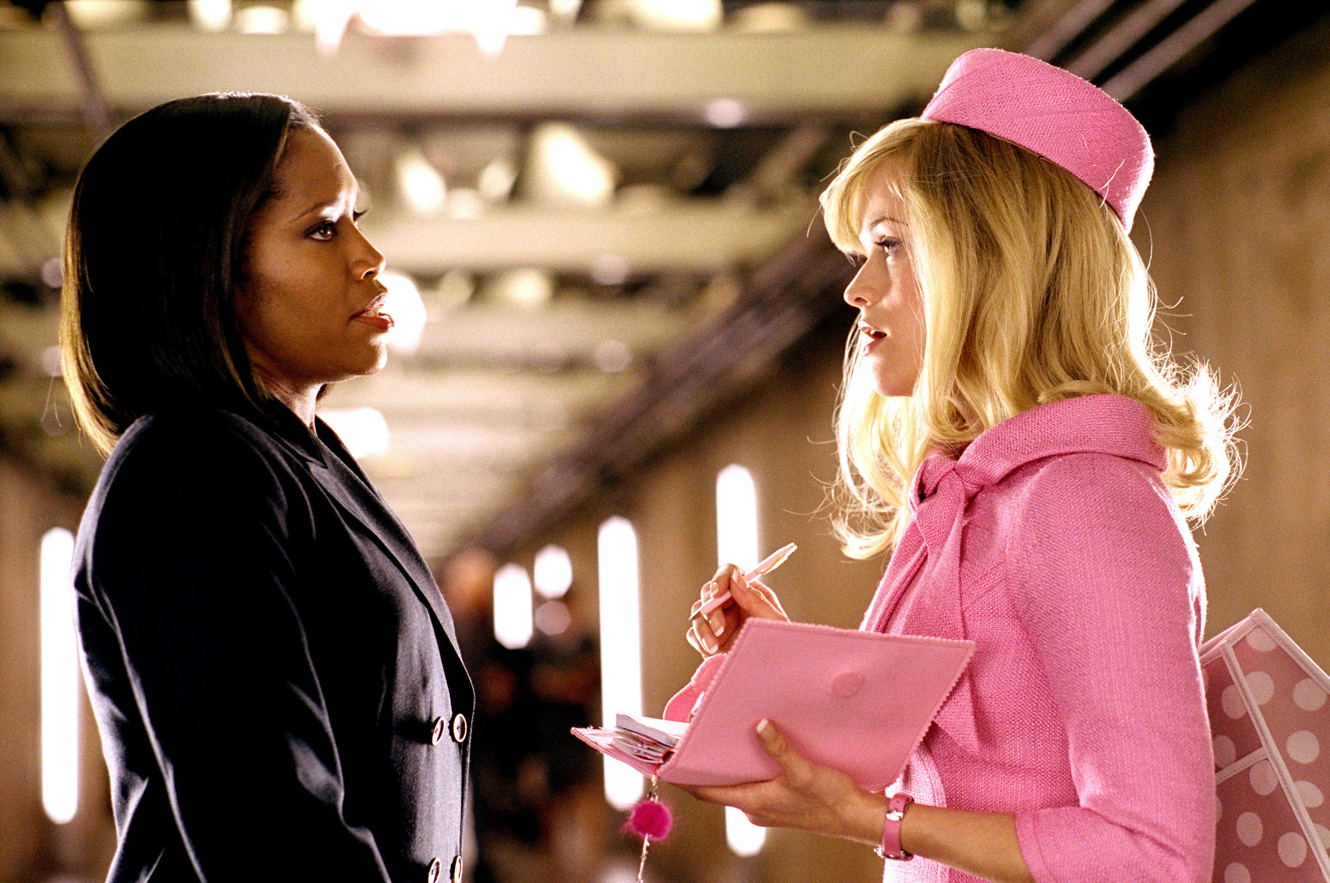 "Regina King and Reese Witherspoon in ""Legally Blonde 2: Red, White & Blonde"""