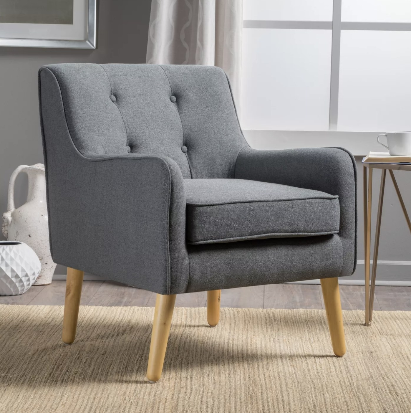 The grey chair