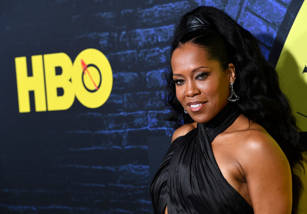 "Regina King attends the Premiere Of HBO's ""Watchmen"""