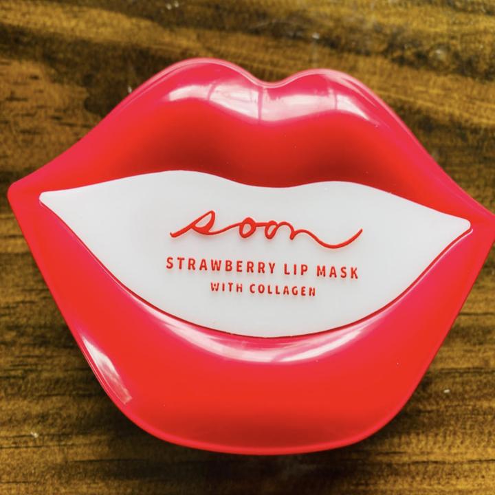 soon strawberry lip maks