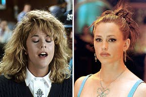 Sally from when Harry Met Sally and Jenna from 13 Going on 30