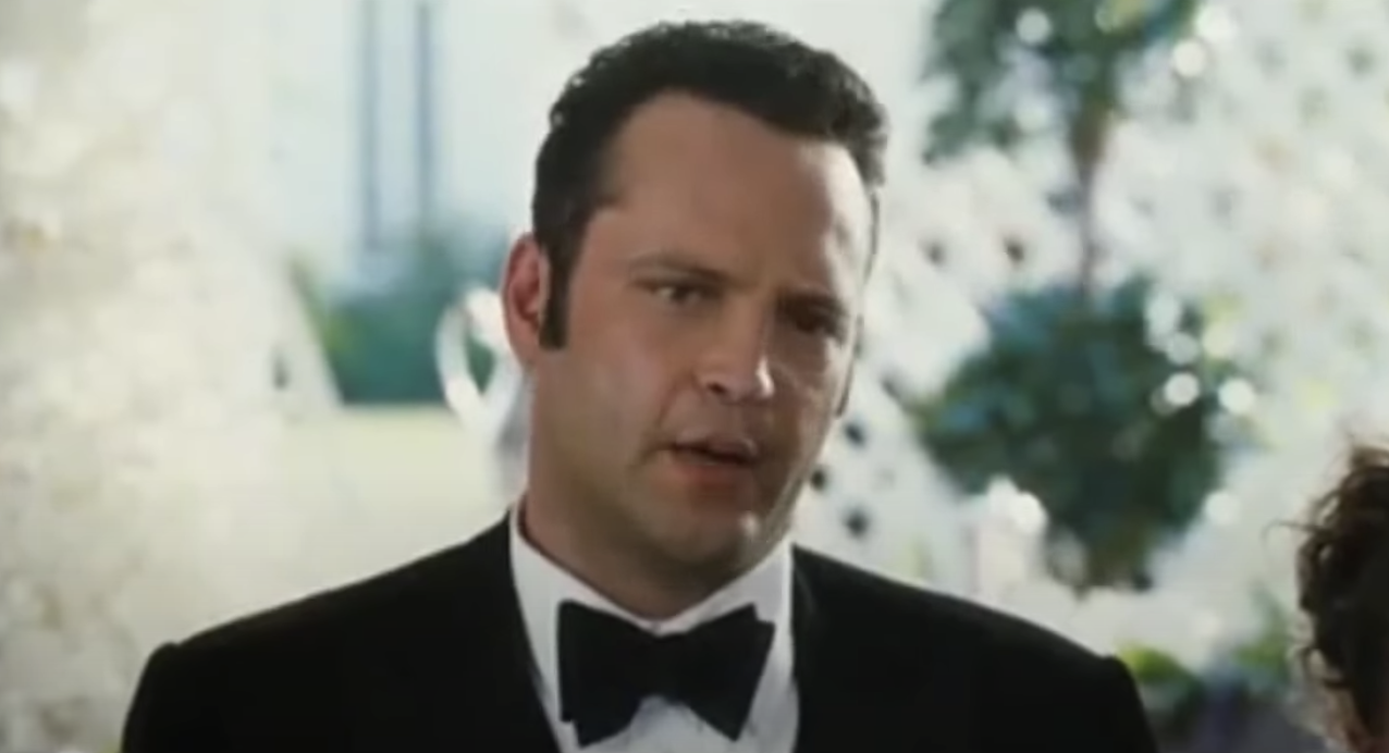 """Vince Vaughn as Jeremy Grey in """"Wedding Crashers"""""""