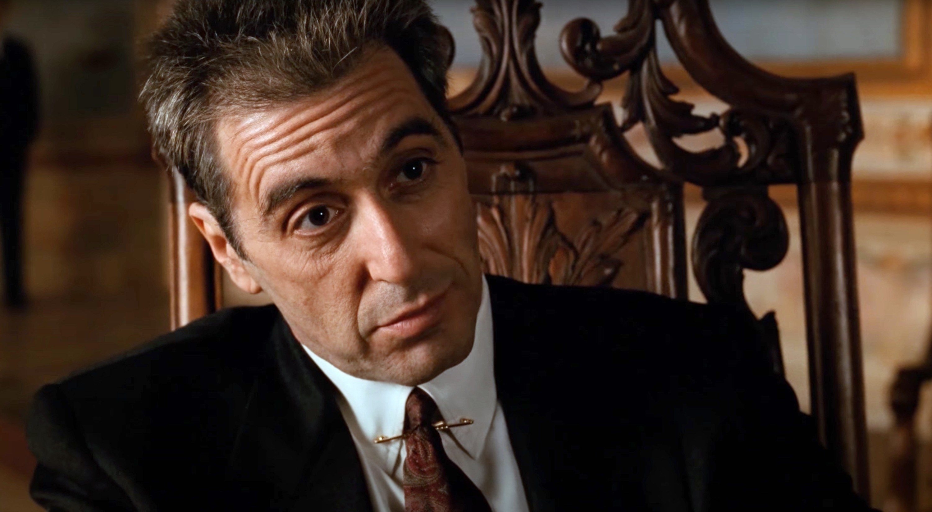 """Al Pacino as Michael Corleone in """"The Godfather Part III"""""""