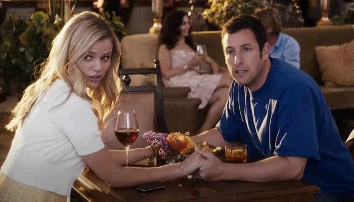 """Adam Sandler and Brooklyn Decker in """"Just Go with It"""""""