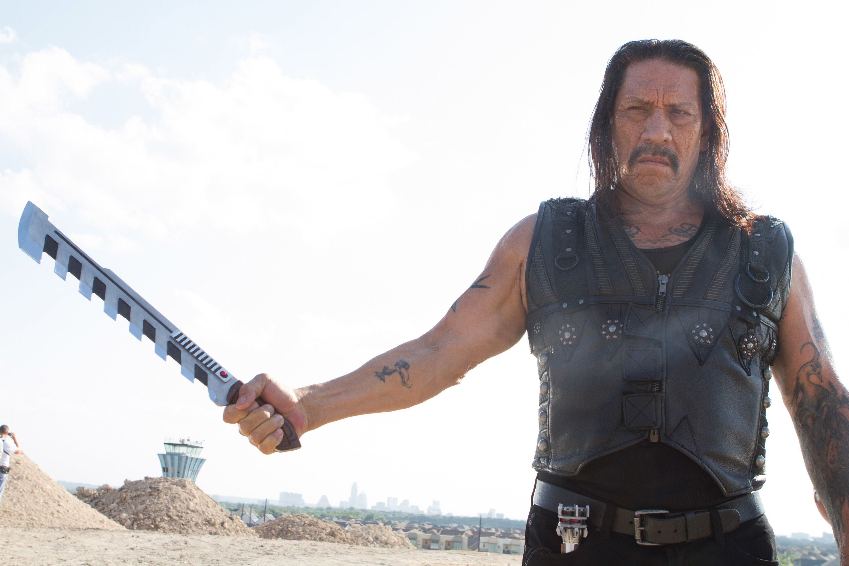 """Danny Trejo as Isador """"Machete"""" Cortez in """"Machete Kills"""""""