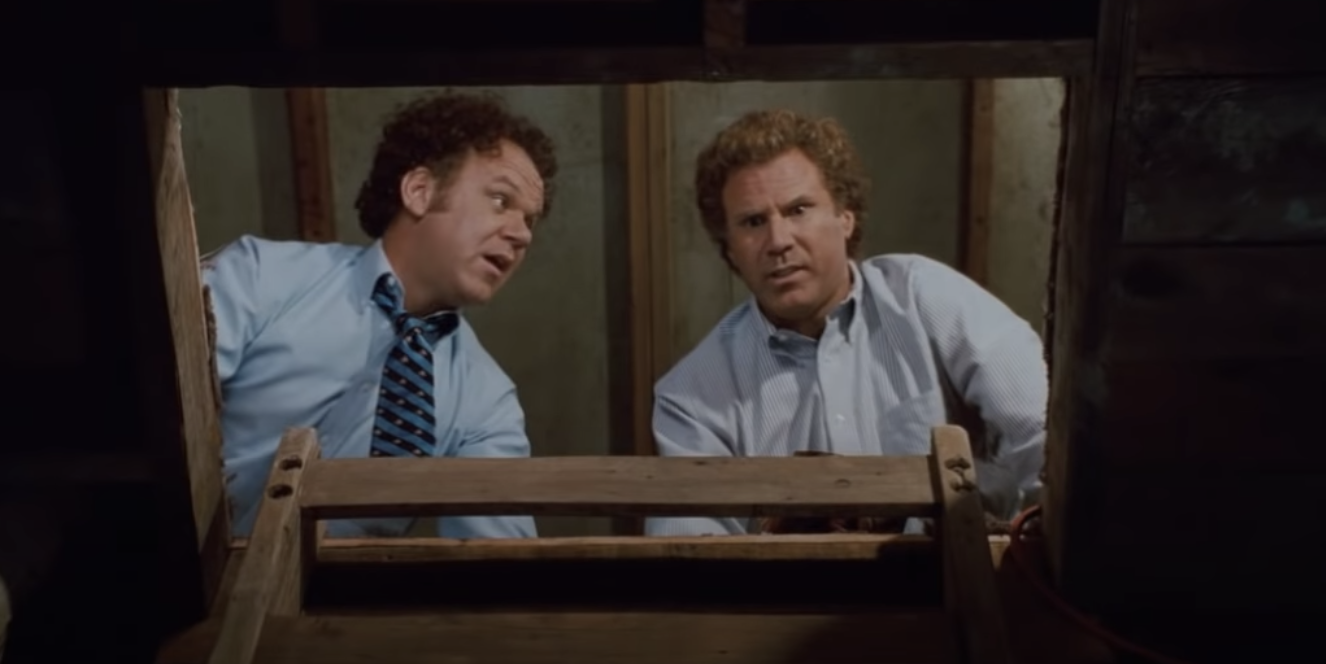 """Will Ferrell as Brennan Huff in """"Step Brothers"""""""