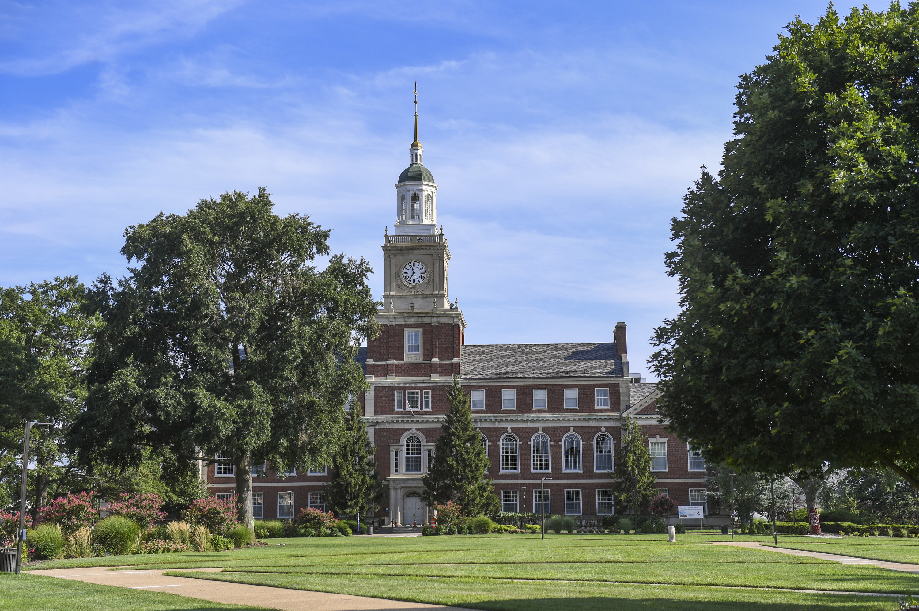 Howard University's library
