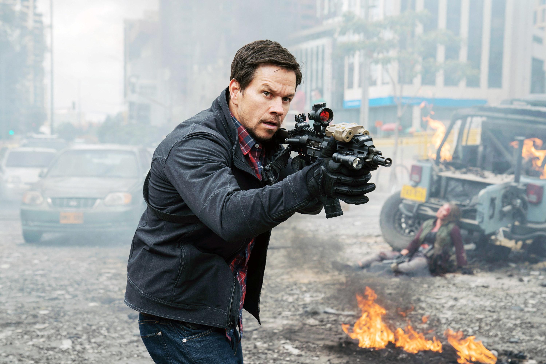 """Mark Wahlberg as James Silva in """"Mile 22"""""""