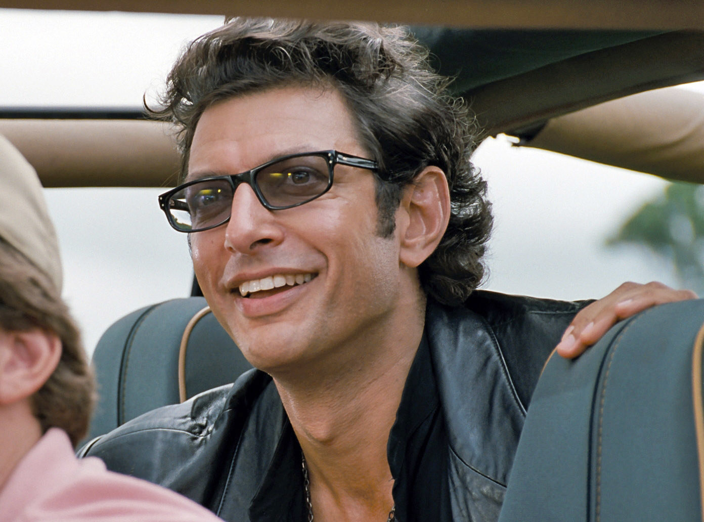 "Jeff Goldblum in ""Jurassic Park"""