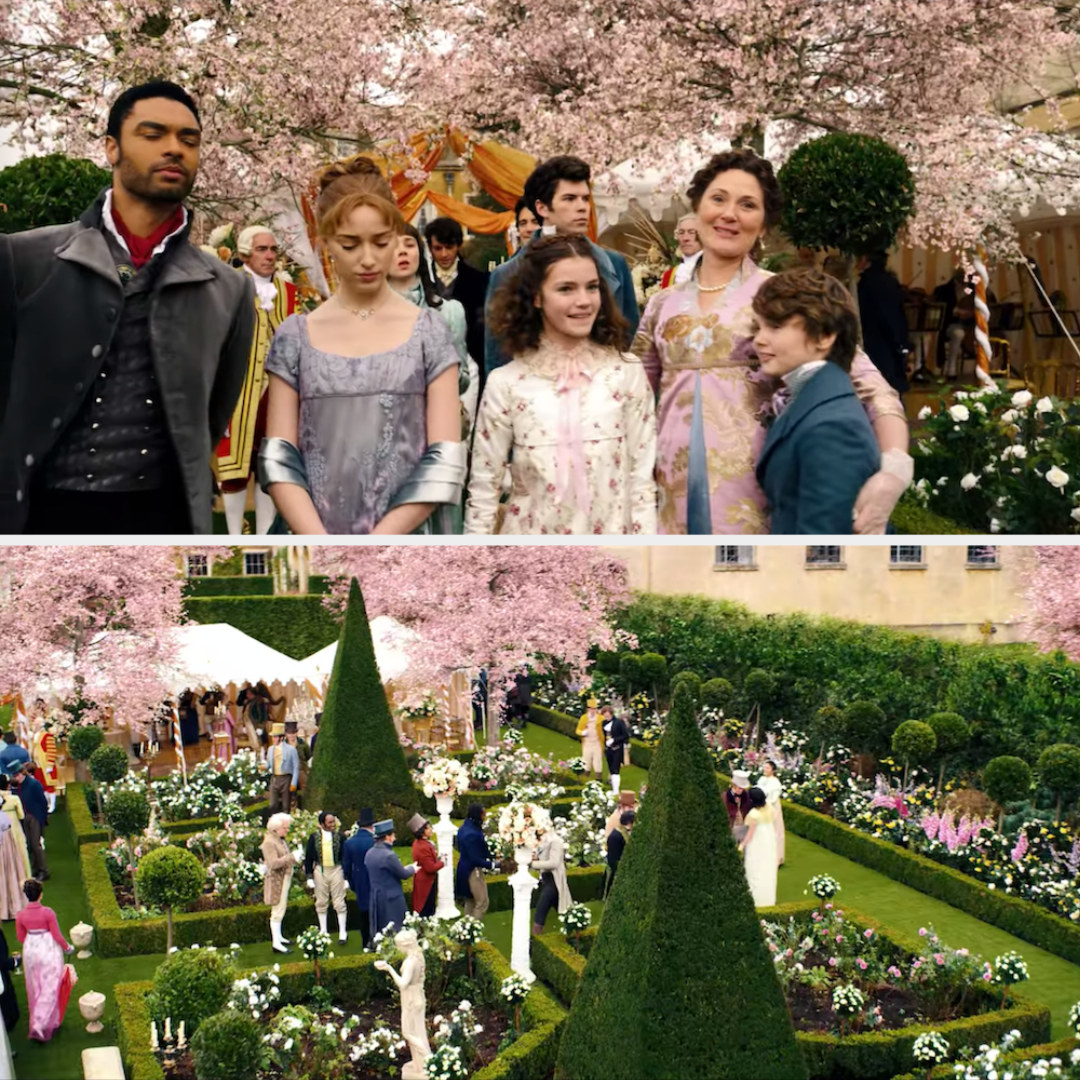 The queen's garden party