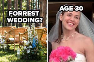 forrest wedding? age 30 with 13 going on 30 photo
